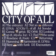 Back View : Makez - CITY OF ALL (2LP) - Heist Recordings / HEISTLP02