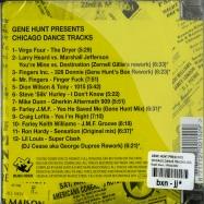 Back View : Gene Hunt presents - CHICAGO DANCE TRACKS (CD) - Rush Hour / RH115CD