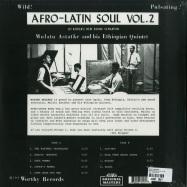 Back View : Mulatu Astatke - AFRO LATIN SOUL VOL. 2 (LP) - Strut / STRUT157LP