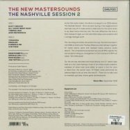 Back View : The New Mastersounds - THE NASHVILLE SESSION 2 (LP) - One Note Records / ONRLP023