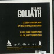 Back View : Boss Axis - GOLIATH EP - Black Fox Music / BFM029