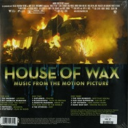 Back View : Various Artists - HOUSE OF WAX O.S.T. (LTD CLEAR 2LP) - Maverick / 9362490455