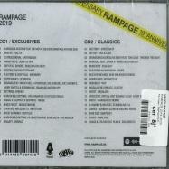 Back View : Various Artist - RAMPAGE 2019 (2xCD) - Rampage / RMPG010CD