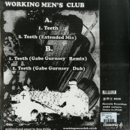 Back View : Working Mens Club - TEETH - Heavenly / HVN52012