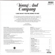Back View : Young & Company - I LIKE WHAT YOU ARE DOING TO ME! (180G LP) - Demon / DEMREC520