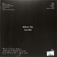 Back View : Bolver Yin - LUZ BEL (LP+MP3) - Efficient Space / ES016