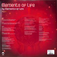Back View : Elements of Life - ELEMENTS OF LIFE, PART 1 (2LP) - Vega Records / VR192