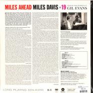 Back View : Miles Davis - MILES AHEAD+1 BONUS TRACKS (180G LP) (AU) - Waxtime / 012772283