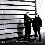 Back View : Surit (NX1), Samot (NX1) - MIND RELEGION (MOTIVE POWER, CRYSTAL GEOMETRY RMXS) - HEX Recordings / HEX007C