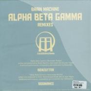 Back View : Brain Machine - ALPHA BETA GAMMA - REMIXES (10 INCH) - Titans Halo Records / thr003b