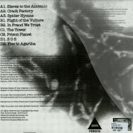 Back View : DJ Spider - NEMISIS RISING (2X12 LP) - Plan B Records / pbr035