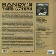 RANDYS STUDIO 17 SESSIONS - 1969 - 1976 (LP)