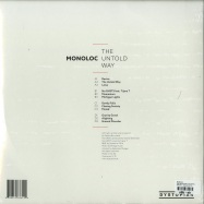 Back View : Monoloc - THE UNTOLD WAY (2X12INCH) - Dystopian / Dystopian LP 01