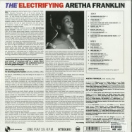 Back View : Aretha Franklin - THE ELECTRIFYING ARETHA FRANKLIN (180G LP) - Pan-am Records / 4140618