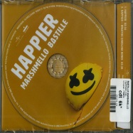 Back View : Bastille Marshmello - HAPPIER (2-TRACK-MAXI-CD) - Universal / 7726675