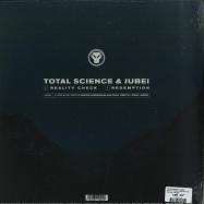 Back View : Total Science & Jubei - REALITY CHECK / REDEMPTION - Metalheadz / META069