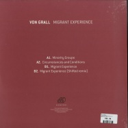 Back View : Von Grall - MIGRANT EXPERIENCE EP - Blocaus / BLCS007