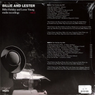 Back View : Billie and Lester - STUDIO RECORDINGS VOL. 1 (LP) - Naked Lunch / ND008 / 00139317