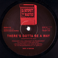 Back View : DJ Sotofett & Madteo - THERE S GOTTA BE A WAY - WANIA / WANIA 96