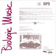 Back View : Heerlens Percusiee Ensemble - BIOLOGIC MUSIC (LP) - Hot Mule / HTML005