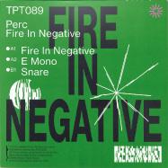 Back View : Perc - FIRE IN NEGATIVE (BLACK VINYL / REPRESS) - Perc Trax / TPT089RP
