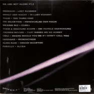 Back View : Various Artists - WE ARE NOT ALONE - PART 2 (2LP) - Bpitch Control / BPX012-PT2