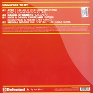 Back View : Defected In The House - ZOUK OUT SINGAPORE 10 EP 1 - Defected / ITH31EP1