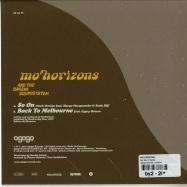 Back View : Mo Horizons - SO ON (7 INCH) - Agogo Records / ar032vl