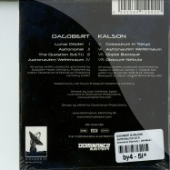 Back View : Dagobert & Kalson - ASTRONAUTEN CD-R - Dominance Electricity / DR046cd-r