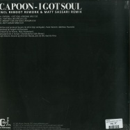 Back View : CAPOON - I GOT SOUL (REBOOT / MATT SASSARI RMXS) - Cafe D Anvers Records / CDAR001
