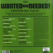 Back View : Various Artists - WANTED AND NEEDED! (LP) - Outta Sight / OSVLP018