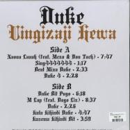 Back View : Duke - UINGIZAJI HEWA (WHITE VINYL) - Nyege Nyege Tapes Uganda / NNT011
