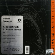 Back View : Dorian Concept - TOOTHBRUSH / BOOTH THRUST (ORANGE COLOURED 12 INCH+MP3) - Brainfeeder / BF094