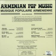 Back View : Hamlet Minassian - ARMENIAN POP MUSIC (LP) - Numero / NUM804LP