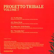 Back View : Progetto Tribale incl. Donato Dozzy - VOLUME 7 - Danza Tribale / DNZT008