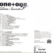 Back View : Various  by James Zabiela  & Nic Fanciulli - ONE + ONE (2CD) - One To One / oneonecd01