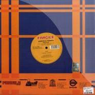 Back View : Marcelo Torres / The Afronauts - ARACRUZ / SUPERCAR - Fragile / FRG110