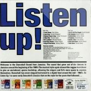 Back View : Various Artists - LISTEN UP! - DANCEHALL ORIGINALS (LP) - Kingston Sounds / kslp040 / 974061