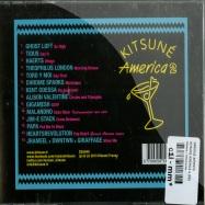 Back View : Various Artists - KITSUNE AMERICA 2 (CD) - Kitsune / kitsunecda049