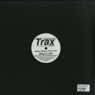 Back View : Jordan Fields & French Phil - WHAT A LIFE?! (INC. UMAN REMIX) - Underground Trax / UTXLTD001