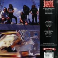 Back View : Napalm Death - HARMONY CORRUPTOIN (LP) - Earache Records / MOSH019LPUS / 7879914