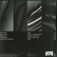Back View : QZB - TAKE IT ALL (SILVER & BLACK VINYL + MP3) - Critical Music / CRIT120R