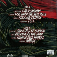 Back View : Various Artists - MASTERS OF METAL - TRIBUTE TO METALLICA (LP) - Metal Bastard Enterprises / MB 118