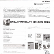 Back View : Sarah Vaughan - GOLDEN HITS (LP) - Verve / 7788703