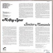 Back View : McCoy Tyner - TENDER MOMENTS (TONE POET VINYL) (LP) - Blue Note / 0893429