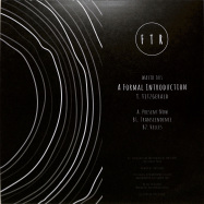 Back View : T. Fitzgerald - A FORMAL INTRODUCTION EP (VINYL ONLY) - We Are FTR Records / WAFTR001