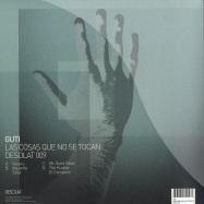 Back View : Guti - LAS COSAS QUE NO SE TOCAN (2X12) - Desolat / Desolat009