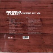 Back View : Various Artists - GUARDIANS OF THE GALAXY - AWESOME MIX VOL. 1 (LP) - Marvel Music / 8731641