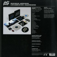 Back View : Daft Punk - Box Alive 2007/ Alive 1997 (180g4xWhite LP) (Ltd Deluxe Box plus 52pg Booklet) - Parlophone / 2564622535