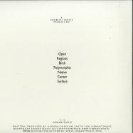 Back View : Soluce - BIRTH (LTD WHITE VINYL) - Vibrant Music / VMR004_ltd